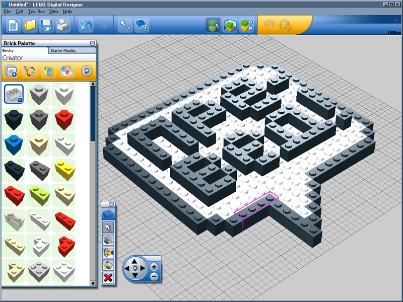 lego digital designer windows xp 7 8 10. Black Bedroom Furniture Sets. Home Design Ideas