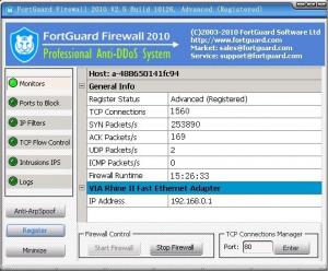 FortGuard Firewall Free Edition