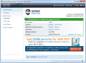 Outpost Security Suite Free