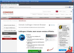 Comodo IceDragon Internet Browser