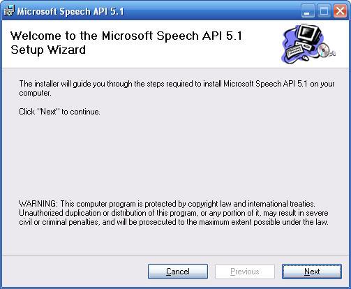 sapi 5.4 для windows 7 скачать