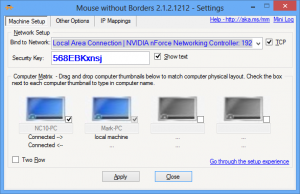 Microsoft Garage Mouse without Borders