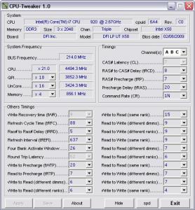 CPU-Tweaker