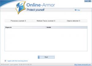 Emsisoft Online Armor Cloudscan