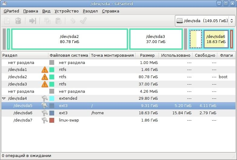 GPARTED FOR WINDOWS 7 TÉLÉCHARGER
