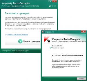 Kaspersky RectorDecryptor