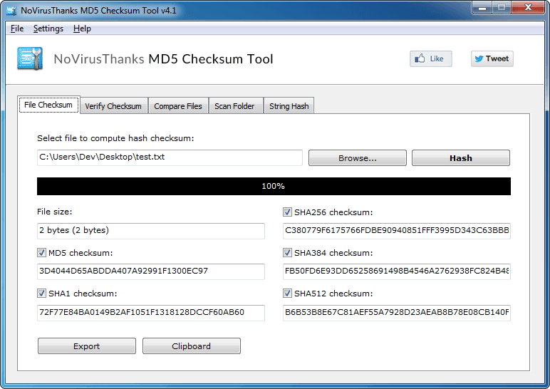 MD5 Checksum Tool