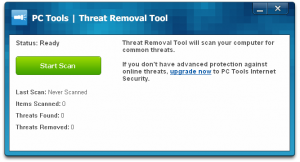 PC Tools Threat Removal Tool