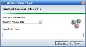 TrustPort Removal Utility