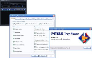 @MAX Tray Player
