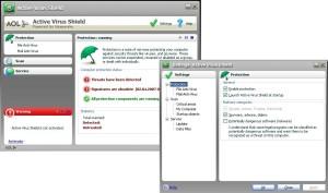 AOL Active Virus Shield