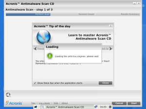 Acronis Antimalware CD