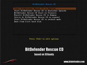 Bitdefender Rescue CD