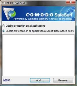 Comodo SafeSurf