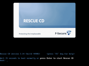 F-Secure Rescue CD