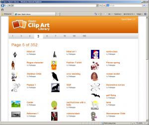 Open Clip Art Library