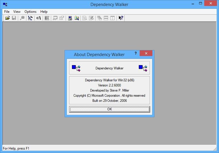 Скачать Dependency Walker (64-Bit)