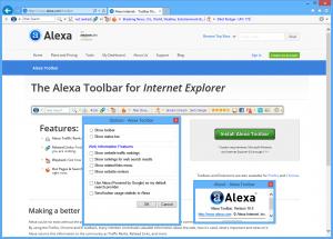 Alexa Toolbar