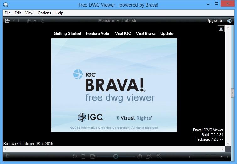 BRAVA FREE DWG VIEWER СКАЧАТЬ БЕСПЛАТНО
