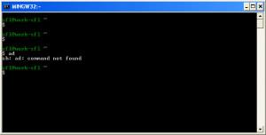 GNUstep MSYS Windows System