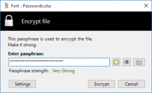 Fort Cryptography Extension