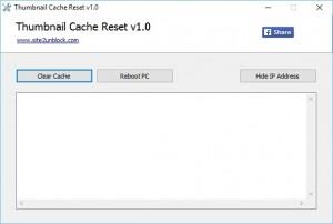 Thumbnail Cache Reset