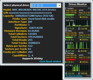 Drives Monitor