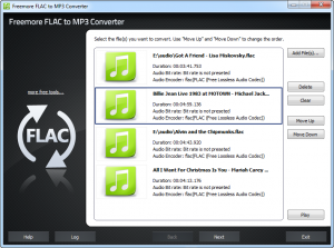 Freemore FLAC to MP3 Converter