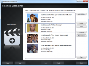 Freemore Video Joiner