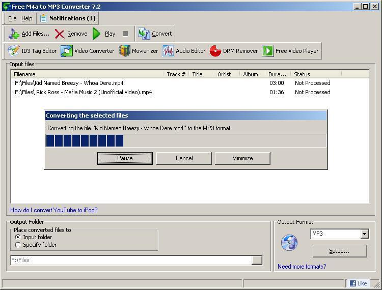 Convert WAV audio files to MP3 format with our free audio converter tool