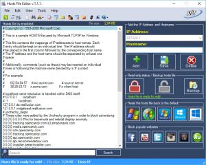 Hosts File Editor