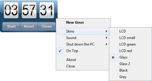 Скачать бесплатно Free Desktop Timer для Windows XP, 7, 8